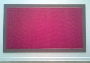 Large work by Gene Davis