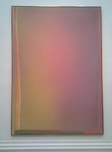 """""""Pink Alert"""" by Jules Olitski, 1966"""